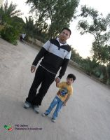 Atif_and_Fahd_at_Wafra_village