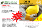 IOSH Managing Safely V5.0 Training Course @ GULF CPR Trainin